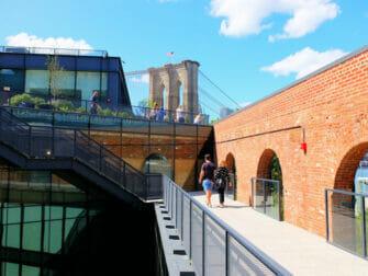 Brooklyn Bridge Park a New York - Tetto Empire Stores