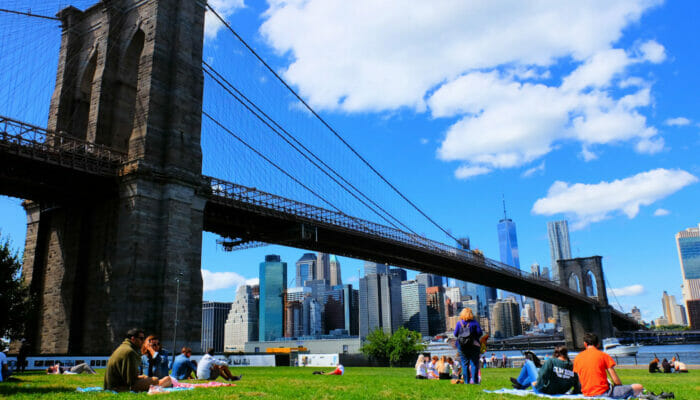 Brooklyn Bridge Park a New York - Relax