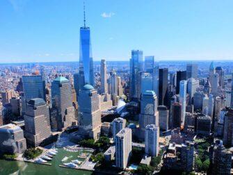 Gli itinerari del giro in elicottero a New York - Manhattan skyline
