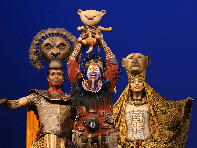 Biglietti per The Lion King a Broadway - Rafiki