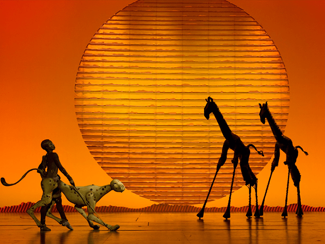 Biglietti per The Lion King a Broadway - Palco