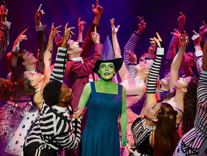 Biglietti per Wicked a Broadway - Elphaba e Cast