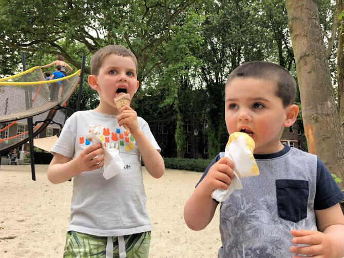 Mangiare con i bambini a New York