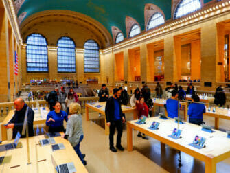 Elettronica e gadget a New York - Apple Store Grand Central