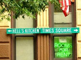 Hells Kitchen in NYC - Direzioni