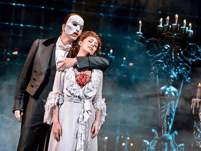 Biglietti per The Phantom of the Opera a Broadway - Il fantasma e Christine