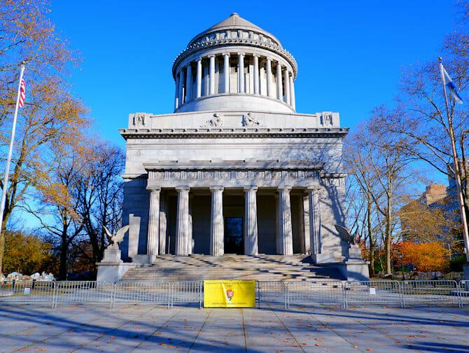 Veterans Day in NYC - Grants Tomb