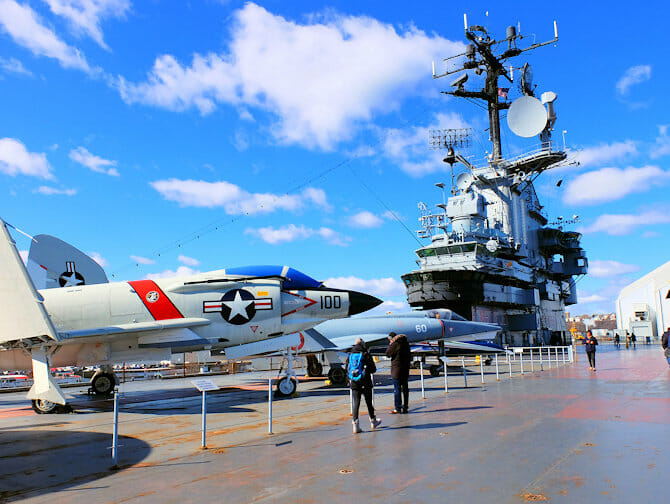 Veterans Day in NYC - Intrepid Museum
