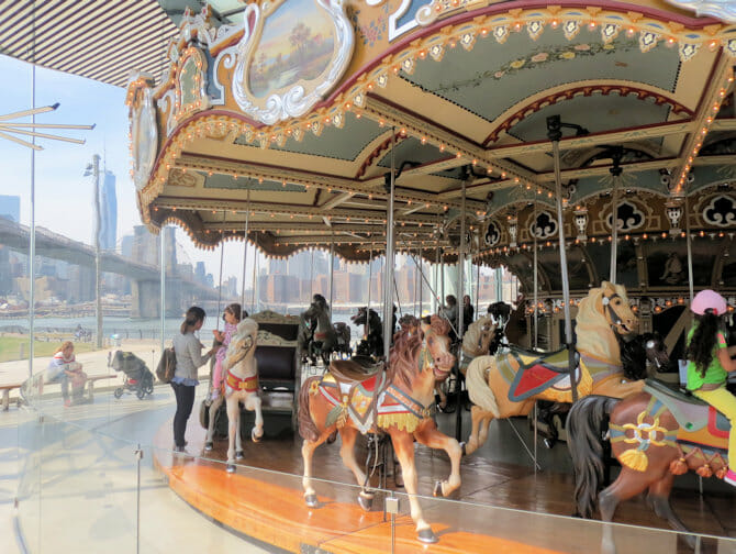 Janes Carousel a New York