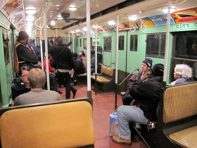 Nostalgia Train a New York - All'interno del treno