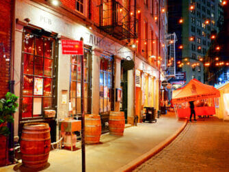 Stone Street in NYC - Bar e ristoranti