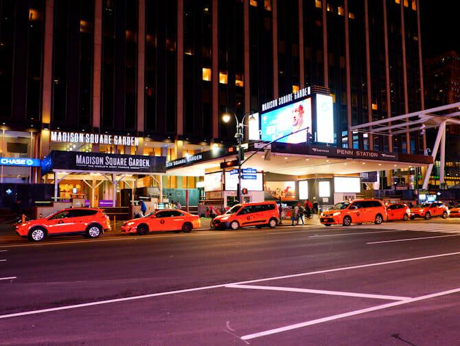 Madison Square Garden in NYC - Manifesto