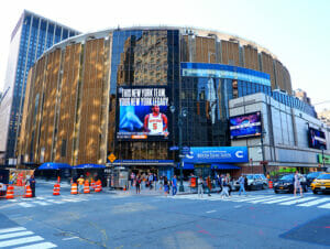 Madison Square Garden a New York