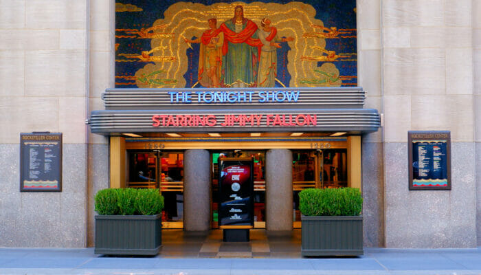 Show televisivo a New York - Tonight Show