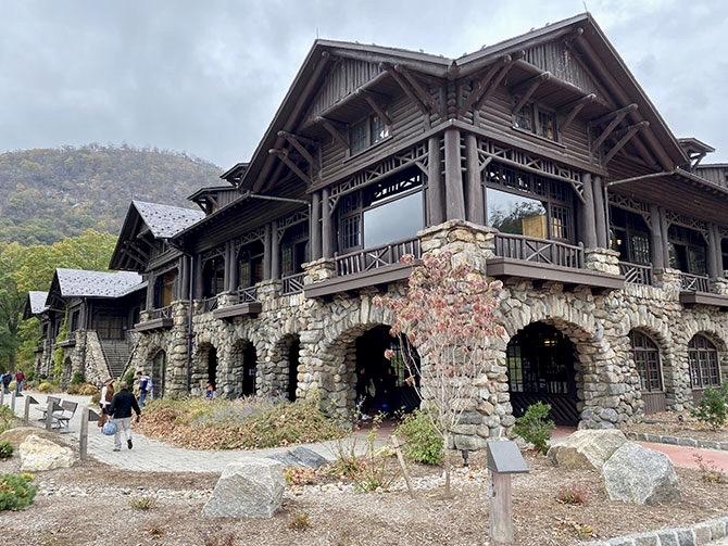 Escursione a Bear Mountain a New York - Bear Mountain Inn
