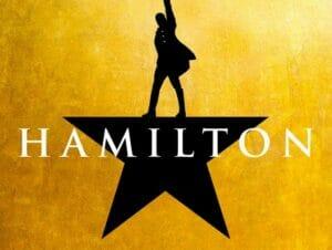 Hamilton a Broadway