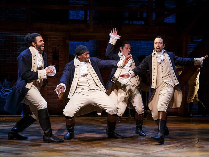 Biglietti per Hamilton a Broadway - Spettacolo hiphop