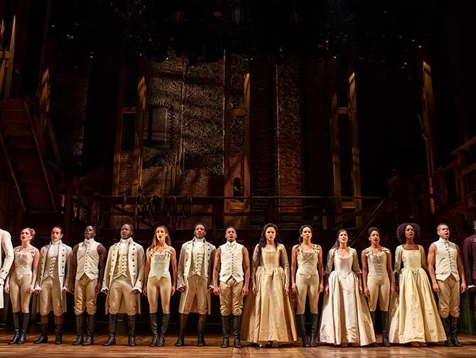 Biglietti per Hamilton a Broadway - Il cast