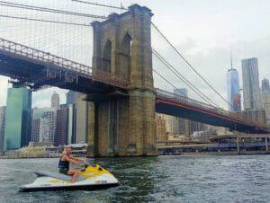 Fare jet ski a New York