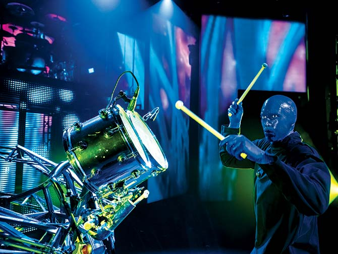 Biglietti per Blue Man Group a New York - Batterista