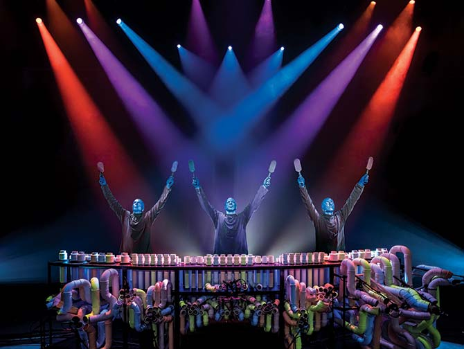 Biglietti per Blue Man Group a New York - Batteria
