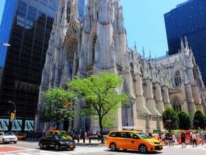 La cattedrale di San Patrizio a New York