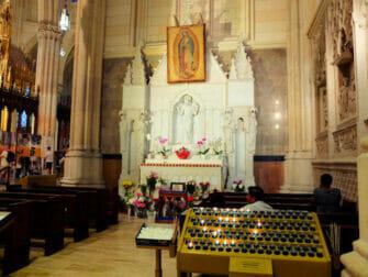 La cattedrale di San Patrizio a New York - Altare