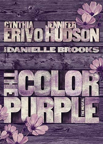 The Color Purple a Broadway - Poster