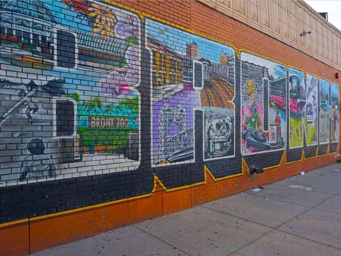 Il tour di Brooklyn, Queens e The Bronx - Bronx Street Art