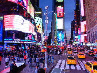 Autobus turistico Gray Line a New York - Night Tour