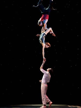 Cirque du Soleil a New York - Acrobati