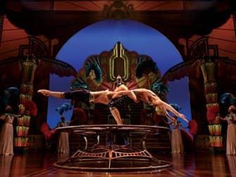 Cirque du Soleil a New York - In bilico