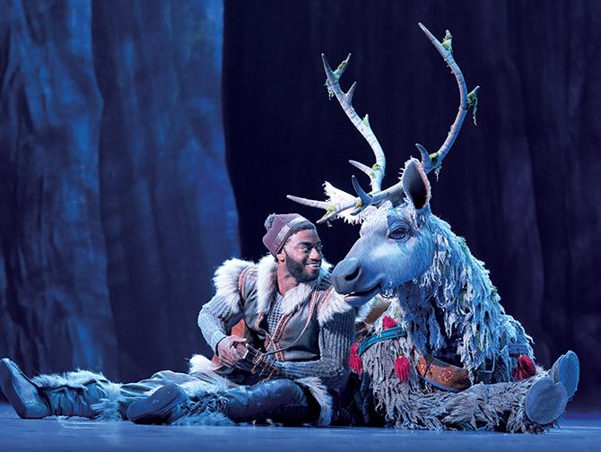Biglietti per Frozen a Broadway - Kristoff e Sven