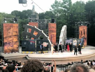 Shakespeare in the Park a New York - Pubblico