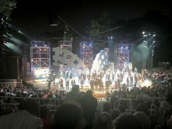 Shakespeare in the Park a New York - Fine dello show
