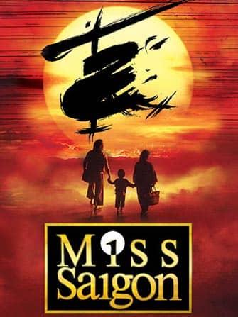 Biglietti per Miss Saigon a Broadway - Poster