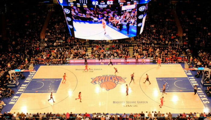 Basket NBA a New York