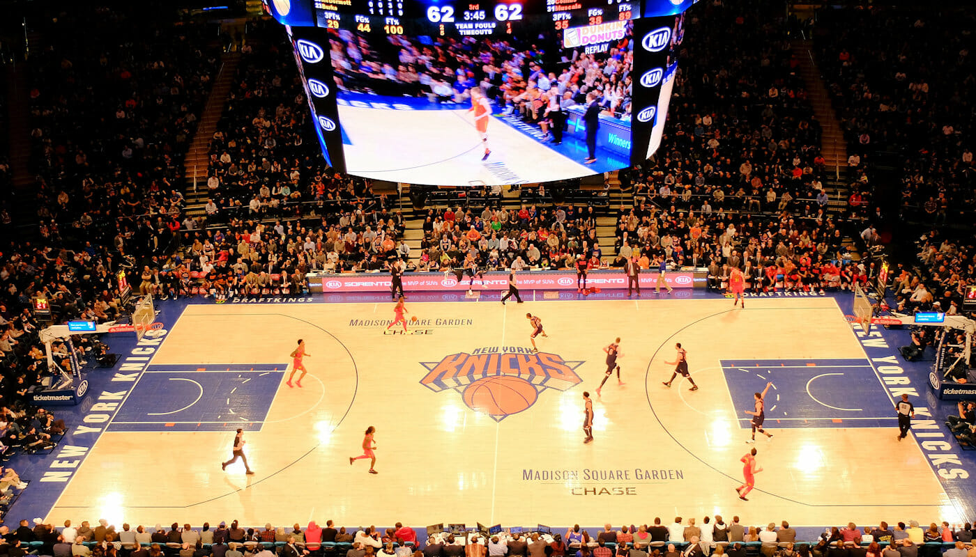 Basket NBA a New York