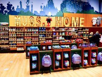 Negozio Disney a Times Square - Tazze