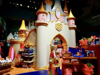 Negozio Disney a Times Square - Castello delle principesse