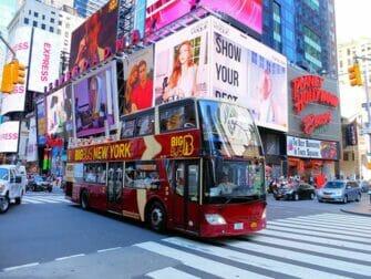 Differenza tra il New York Explorer Pass e il New York Pass - Autobus Hop on Hop off