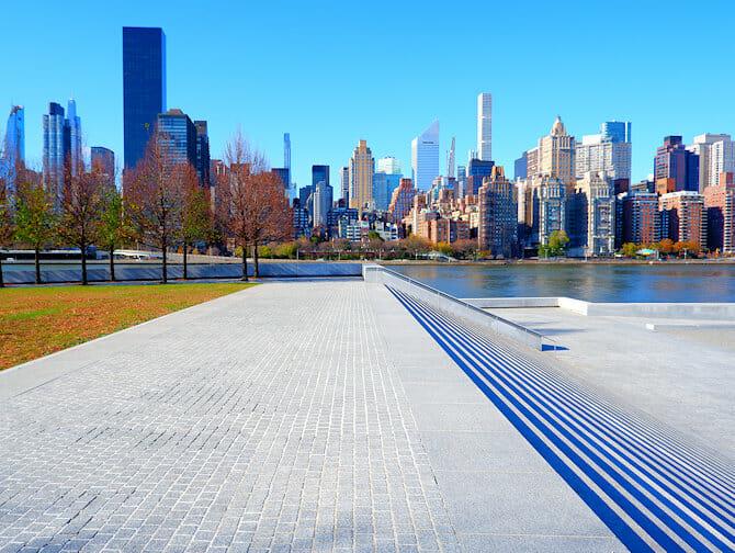 Roosevelt Island a New York - Memorial