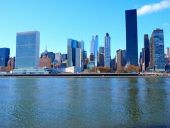 Roosevelt Island a New York - Skyline