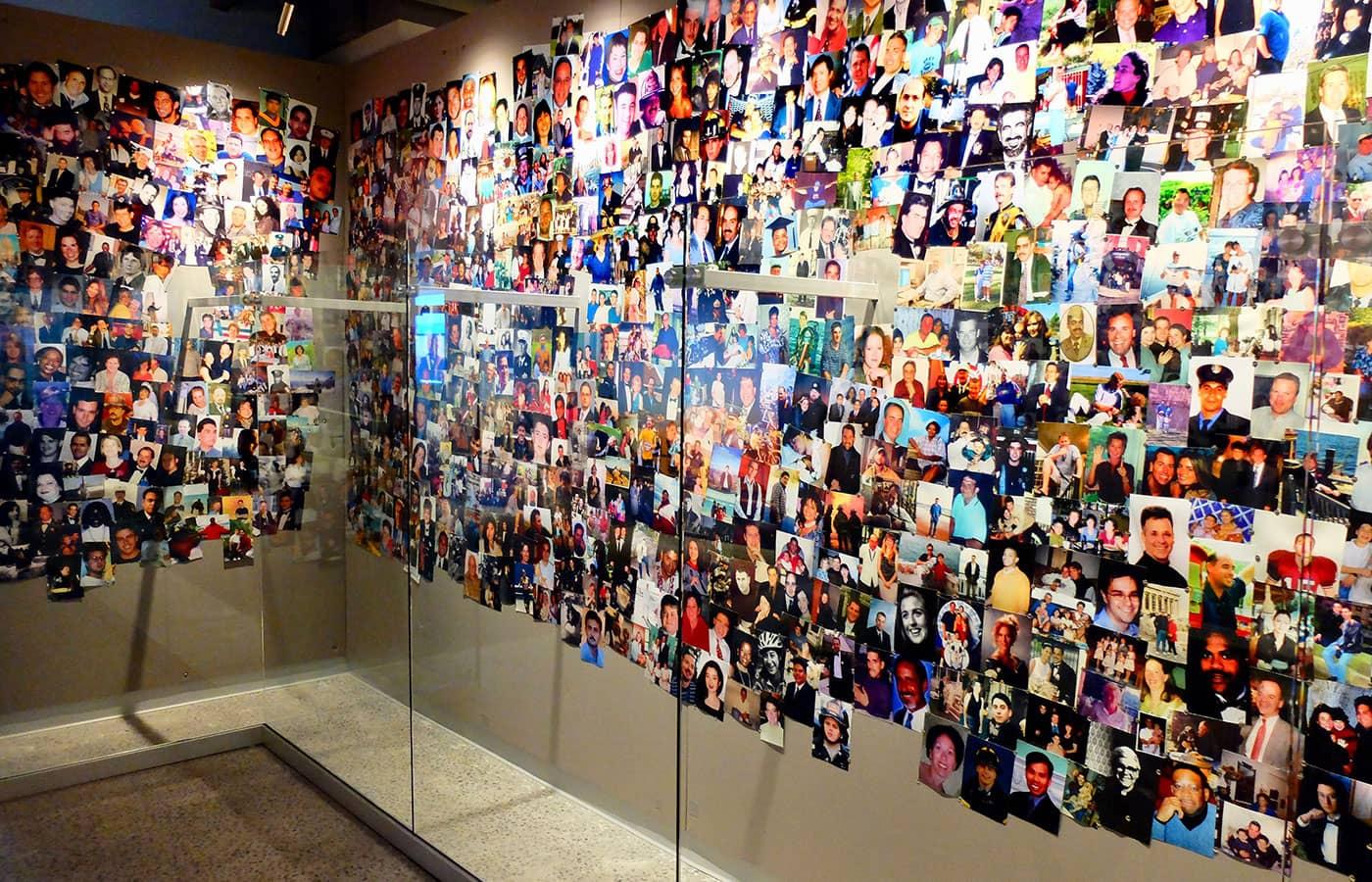 911 Tribute Museum a New York - Parete