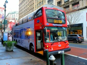 New York Sightseeing Day Pass - Autobus hop on hop off