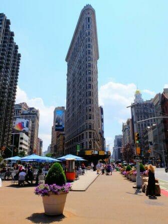Tour dei supereroi a New York - Flatiron Building