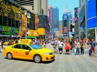 Tour dei supereroi a New York - Times Square