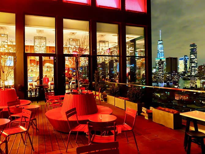 citizenM New York Bowery Hotel - Terrazza panoramica