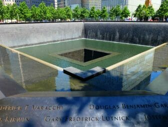 La differenze tra il New York Sightseeing Day Pass e il New York Pass- 911 Memorial