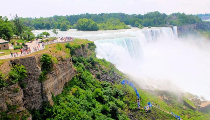 Da New York alle Cascate del Niagara in autobus per un giorno - Vista dal punto panoramico